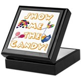 Show the Candy Keepsake Box