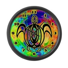 Circle Line Turtle Large Wall Clock
