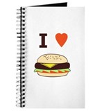 I Love Cheeseburgers Journal