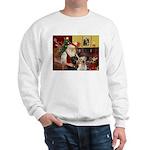 Santa's 2 Labs (Y+B) Sweatshirt