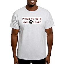 Proud Dog Lover T-Shirt