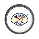 Oxnard Police Wall Clock