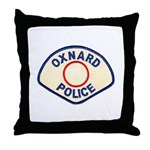 Oxnard Police Throw Pillow