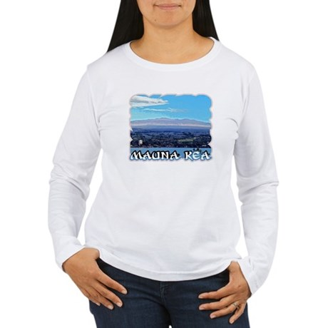 Mauna Kea Women's Long Sleeve T-Shirt