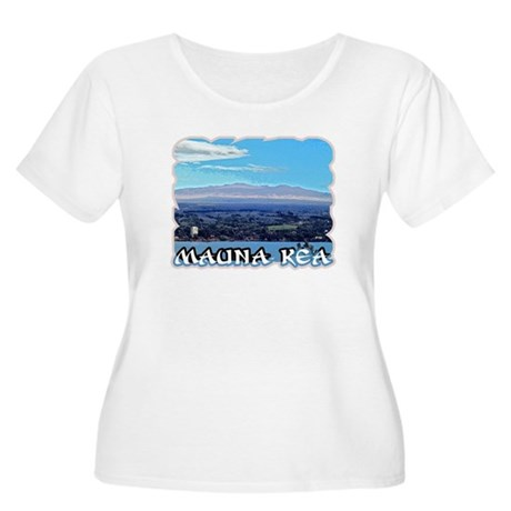 Mauna Kea Women's Plus Size Scoop Neck T-Shirt
