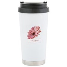 Blush Ceramic Travel Mug