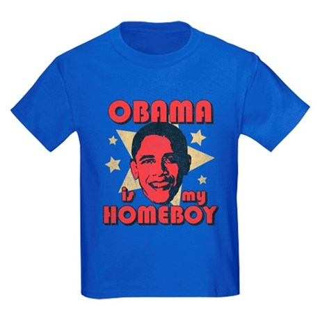 Obama is my Homeboy Kids T-Shirt