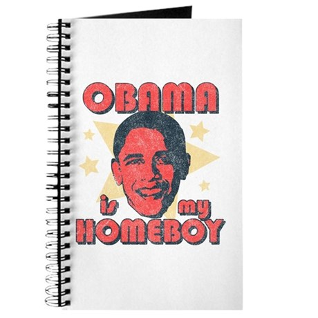 Obama is my Homeboy Journal