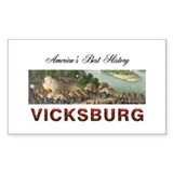 ABH Vicksburg Rectangle Decal