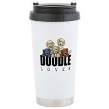 Doodle Lover Ceramic Travel Mug