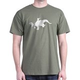 White Rodeo Triceratops T-Shirt