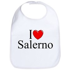 """I Love (Heart) Salerno"" Bib"