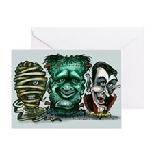 Unique Vampire Greeting Card