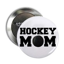 Hockey Mom Button