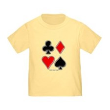 Playing Card Suits T