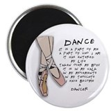 "Dance 2.25"" Magnet (10 pack)"