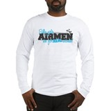 Real women: Airman Long Sleeve T-Shirt