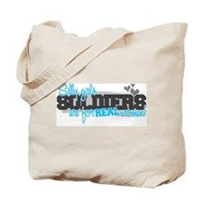 Real women: Soldiers Tote Bag