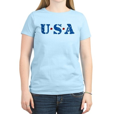 U.S.A. Women's Light T-Shirt