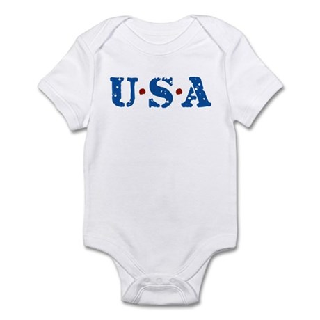 U.S.A. Infant Bodysuit