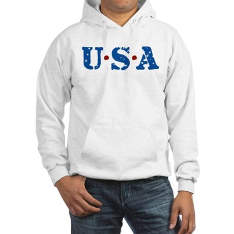 U.S.A. Hooded Sweatshirt