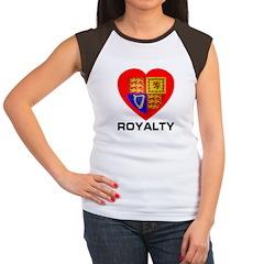 Royalty Women's Cap Sleeve T-Shirt