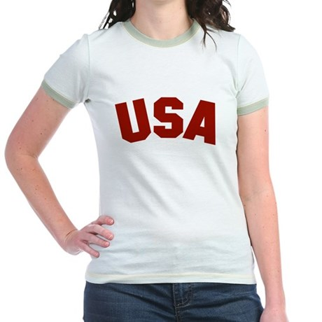 USA Jr. Ringer T-Shirt