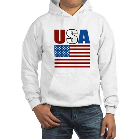 Patriotic USA Hooded Sweatshirt