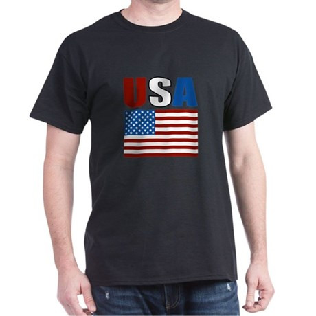 Patriotic USA Dark T-Shirt