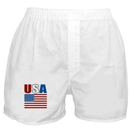 Patriotic USA Boxer Shorts
