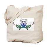 Emma's Celtic Dragons Name Tote Bag