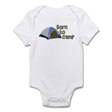 Born To Camp Infant Bodysuit