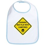 Play With Campfires Bib