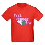 First Camping Trip Kids Dark T-Shirt