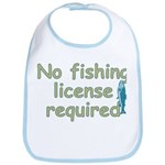 No Fishing License Bib