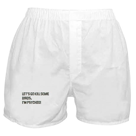 Let's kill some birds! Boxer Shorts