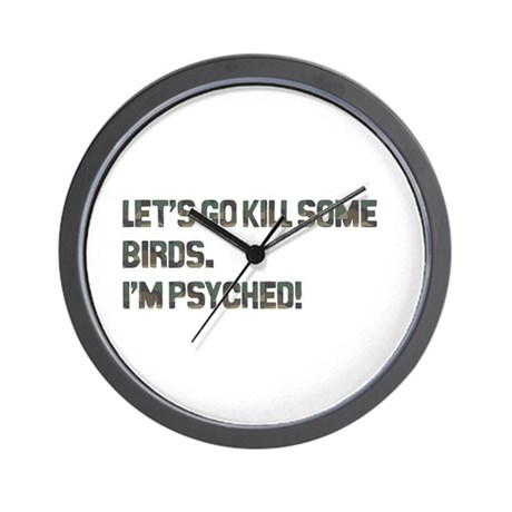 Let's kill some birds! Wall Clock