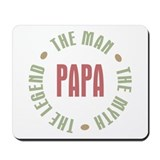 Papa Man Myth Legend Mousepad