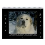 Great Pyrenees IV #6 Wall Calendar 2013