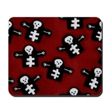 Stitched Skeleton Mousepad