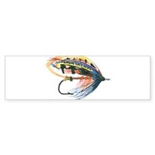 Fishing Lure Art Bumper Sticker (50 pk)