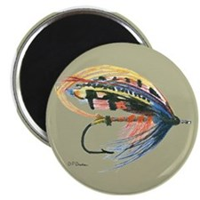 "Fishing Lure Art 2.25"" Magnet (10 pack)"