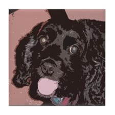 Pop Art Cocker Spaniel Tile Coaster
