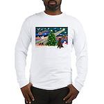 XmasMagic/Poodle (ST-ch) Long Sleeve T-Shirt