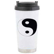 YIN and YANG Ceramic Travel Mug
