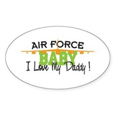 Air Force Baby Oval Decal
