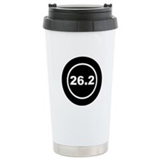 26.2 Marathon Running Ceramic Travel Mug
