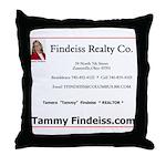 Tammy Findeiss Throw Pillow