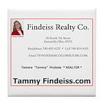 Tammy Findeiss Tile Coaster