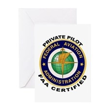 FAA Certified Private Pilot Greeting Card